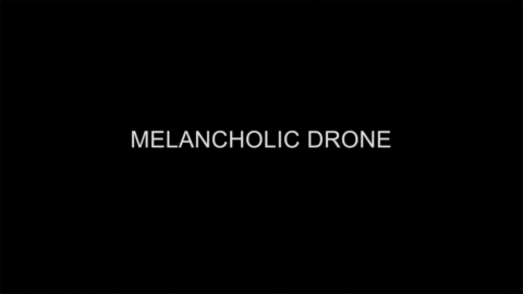 melancholic drone image